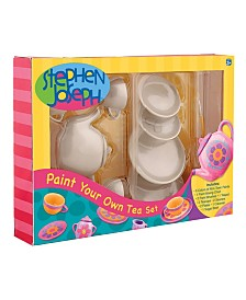 Stephen Joseph Paint Your Own Tea Set