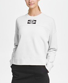 DKNY Sport Logo Patch Sweatshirt, Created for Macy's