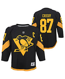 Outerstuff Big Boys Sidney Crosby Pittsburgh Penguins Stadium Series Replica Jersey