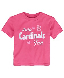 Outerstuff Toddlers St. Louis Cardinals Girly Fan T-Shirt
