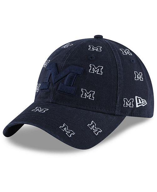 New Era Women's Michigan Wolverines Logo Scatter Cap
