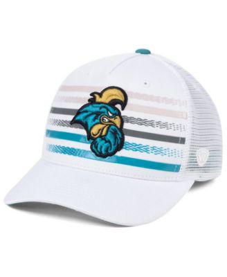 NCAA Coastal Carolina Chanticleers University College Fitted Caps Hats Teal