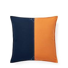 Casey Color-Block Throw Pillow