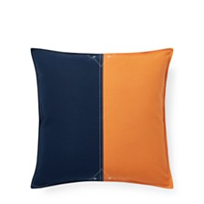 Lauren Ralph Lauren Casey Color-Block Throw Pillow