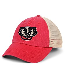 Top of the World Wisconsin Badgers Raggs Alternate Mesh Cap