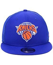 New Era New York Knicks Nothing But Net 9FIFTY Snapback Cap