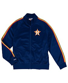 Mitchell & Ness Men's Houston Astros Sublimated Sleeve Track Jacket