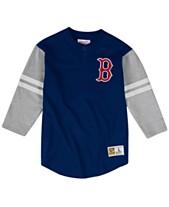 32ba72d93 Mitchell   Ness Men s Big   Tall Boston Red Sox Heyday Henley T-Shirt