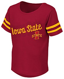Colosseum Toddlers Iowa State Cyclones Sleeve Stripe T-Shirt