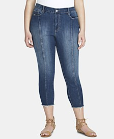 Trendy Plus Size Adored High-Rise Skinny Ankle Jeans