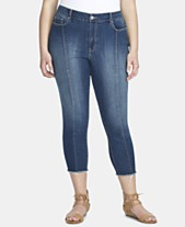 dce0d93c1d305 Jessica Simpson Trendy Plus Size Adored High-Rise Skinny Ankle Jeans