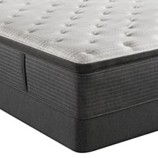"Beautyrest Silver BRS900-C-TSS 16.5"" Plush Pillow Top Mattress Set - Twin XL, Created For Macy's"