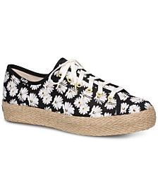 Keds Women's Triple Kick Daisy Sneakers