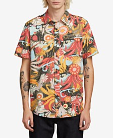 Volcom Psych Floral Short Sleeve