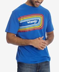 Wrangler Men's Rainbow Logo Graphic T-Shirt