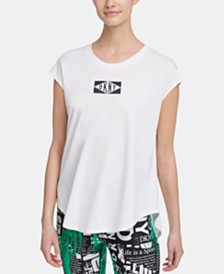 DKNY Sport Logo T-Shirt, Created for Macy's