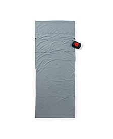 Ultra Portable Travel-Sleeping Bag Liner- Silk touch with Pillow Trap