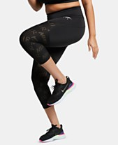 7dc70c4390357 Nike Plus Size Air Cropped Running Leggings