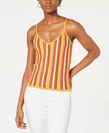 Lucy Paris Katrina Rainbow Knit Top