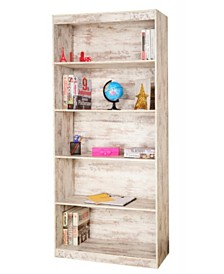 "Techni Mobili 5-Shelf 71"" Bookcase, Quick Ship"