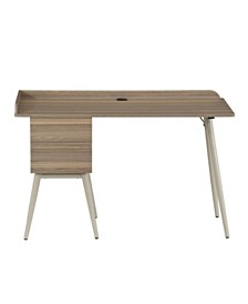 Techni Mobili Modern Space Saver Desk, Quick Ship