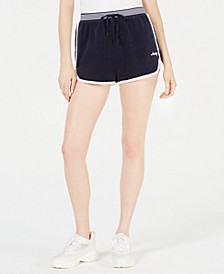 Microterry Drawstring Shorts