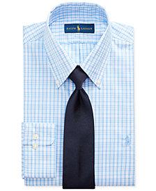 Polo Ralph Lauren Men's Classic/Regular Fit Plaid Dress Shirt