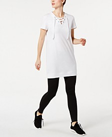 Lace-Up Tunic, Created for Macy's