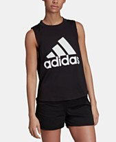86573724acd32 adidas Sports ID Relaxed Logo Tank Top