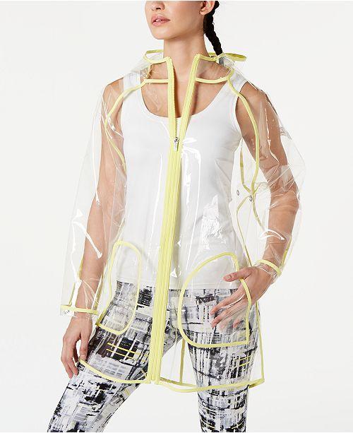 Calvin Klein Logo Rain Jacket