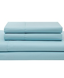 Cotton Percale Full Sheet Set