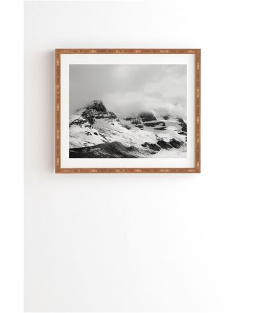 Deny Designs Glacier Minimalism Framed Wall Art