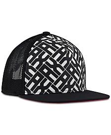 A|X Armani Exchange Mesh Logo Baseball Cap