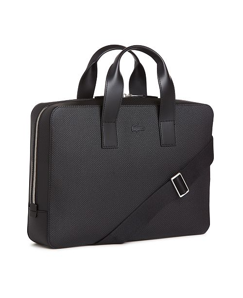 f27a0a99b0364 ... Leather Computer Bag  Lacoste Men s Chantaco Matte Piqu eacute  ...