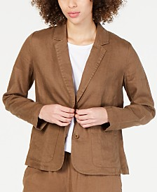 Eileen Fisher Organic Cotton Blazer, Regular & Petite