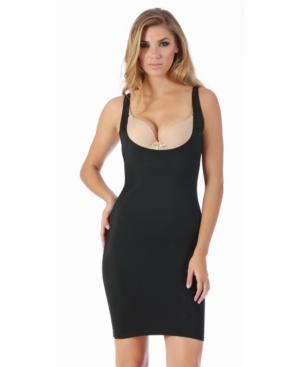 InstantFigure Compression Slimming Open Bust Slip Dress
