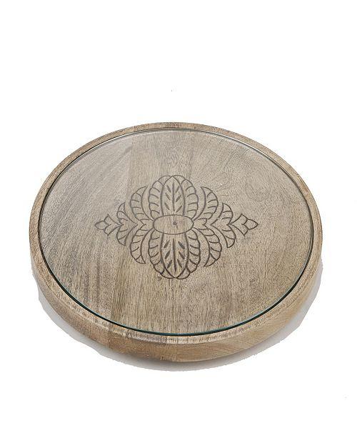 Mind Reader Round Cheese Platter