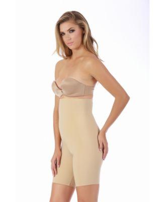 InstantFigure Womens Hi-Waist Shorts with Open Gusset