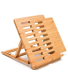 Lipper International Bamboo Expandable iPad Stand