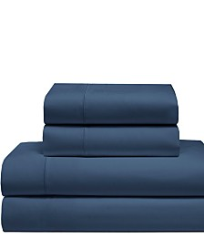 Cool Comfort Cotton Solid Queen Sheet Set