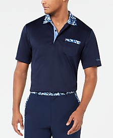 Greg Norman Men's Pulford Collar Polo