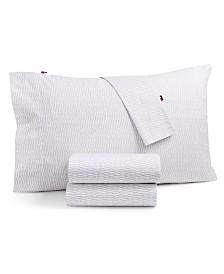 Tommy Hilfiger Selenite Cotton 4-Pc. Queen Sheet Set