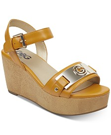 G by GUESS Danna Platform Wedge Sandals