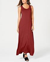 4dd3c0c2f8 Style   Co Petite Exposed-Seam Maxi Dress