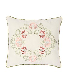 "Nostalgia Home Eve 14""W x 20""L Embroidered Decorative Pillow"