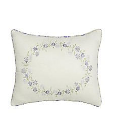 "Nostalgia Home Cathedral Window 14""W x 20""L Embroidered Decorative Pillow"