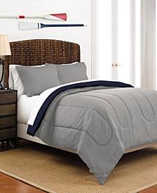 Martex Reversible Twin Comforter Set