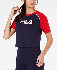 Fila Salma Colorblocked Cropped T-Shirt