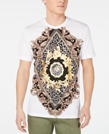 I.N.C. Men's Baroque Graphic T-Shirt, Created for Macy's