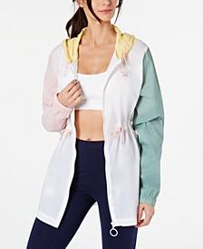 Liliana Colorblocked Hooded Jacket